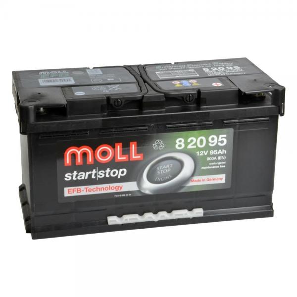 Акумулатор MOLL Start-Stop EFB 12V 95AH