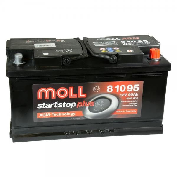 Акумулатор MOLL Start-Stop AGM 12V 95AH
