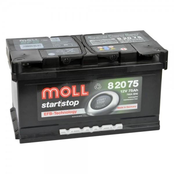 Акумулатор MOLL Start-Stop EFB 12V 75AH