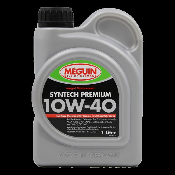 Meguin Syntech Premium SAE 10W40-1L