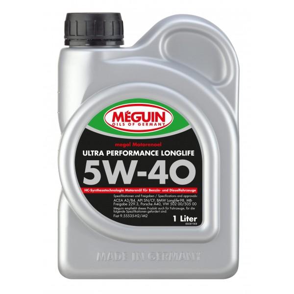 Meguin Ultra Performance Longlife SAE 5W40 1L