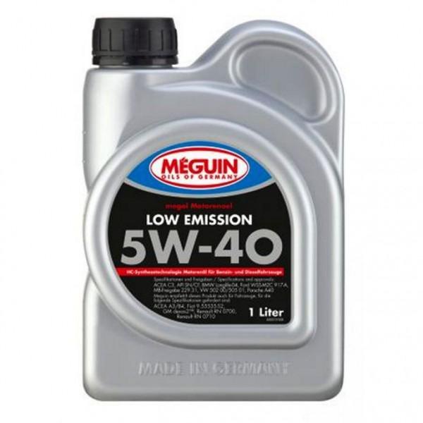 Meguin LOW EMISSION SAE 5W40-1L
