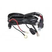 Свързване на кабелите на фара