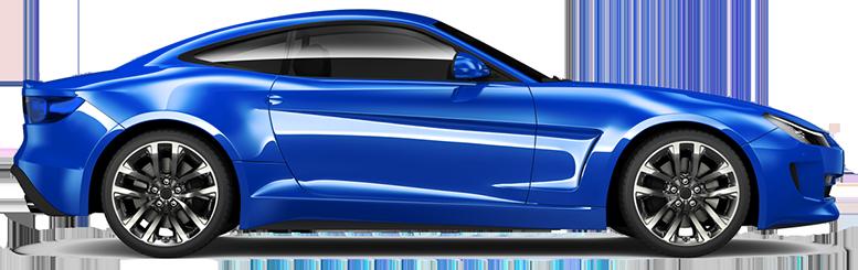 Синя кола